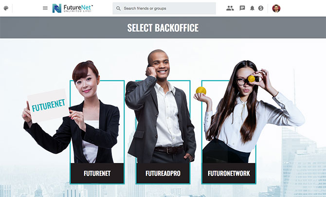 FutureNet:Back office
