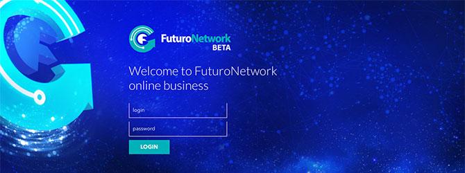 FuturoNetwork:ログイン画面